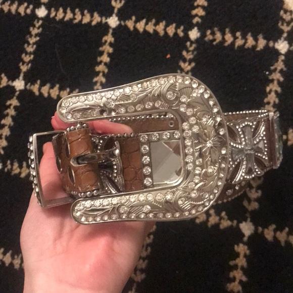 austin rodeo Accessories - Rhinestone belt!